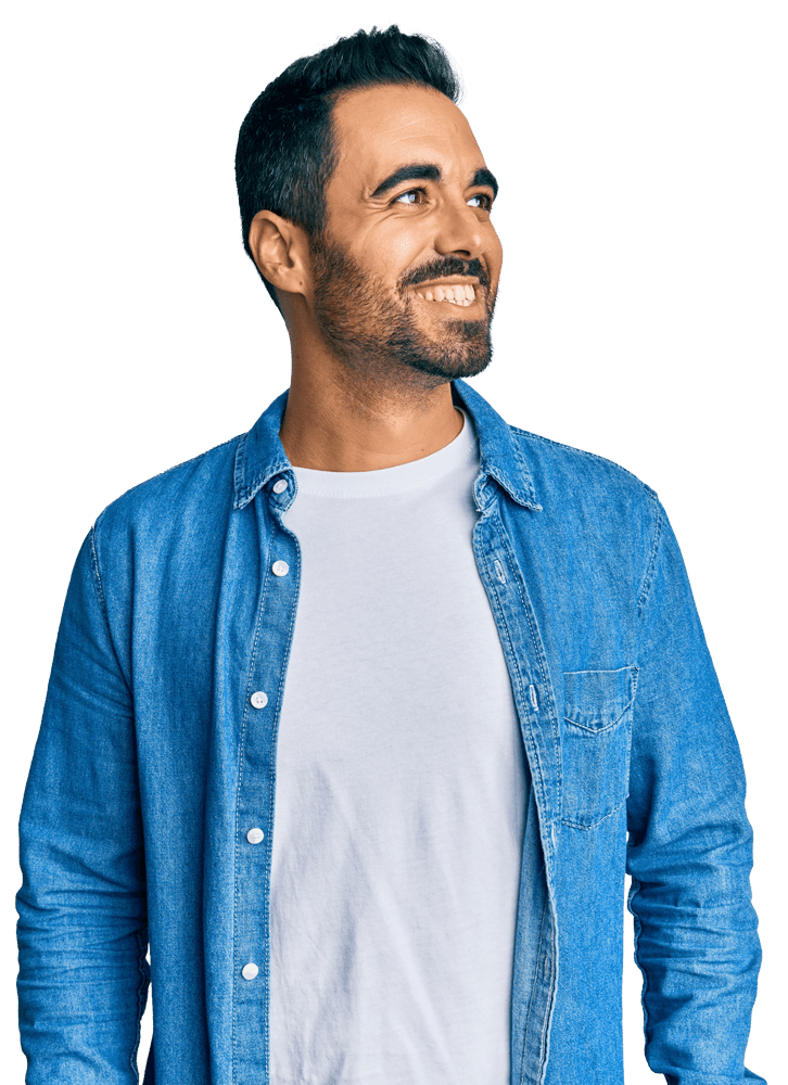 Man-with-blue-jacket-smiling